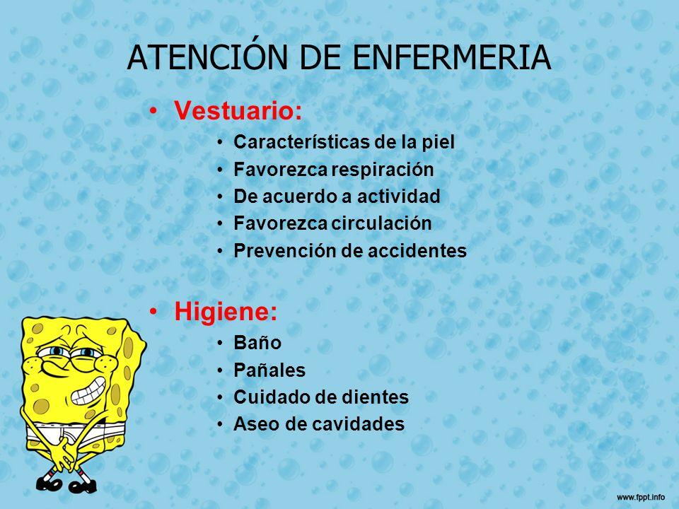 ATENCIÓN DE ENFERMERIA