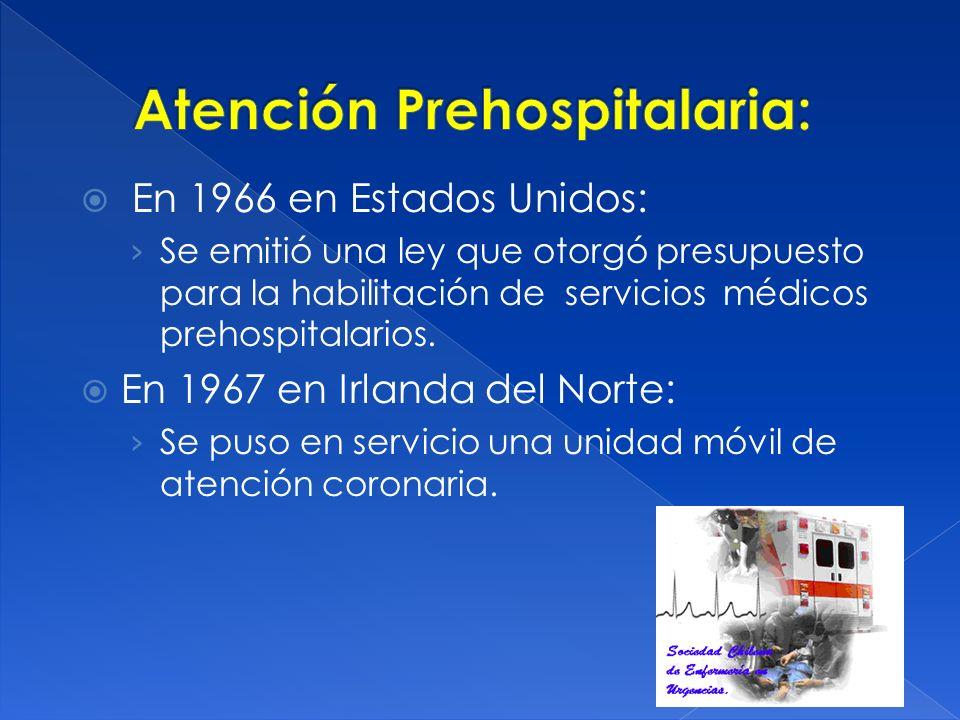 Atención Prehospitalaria: