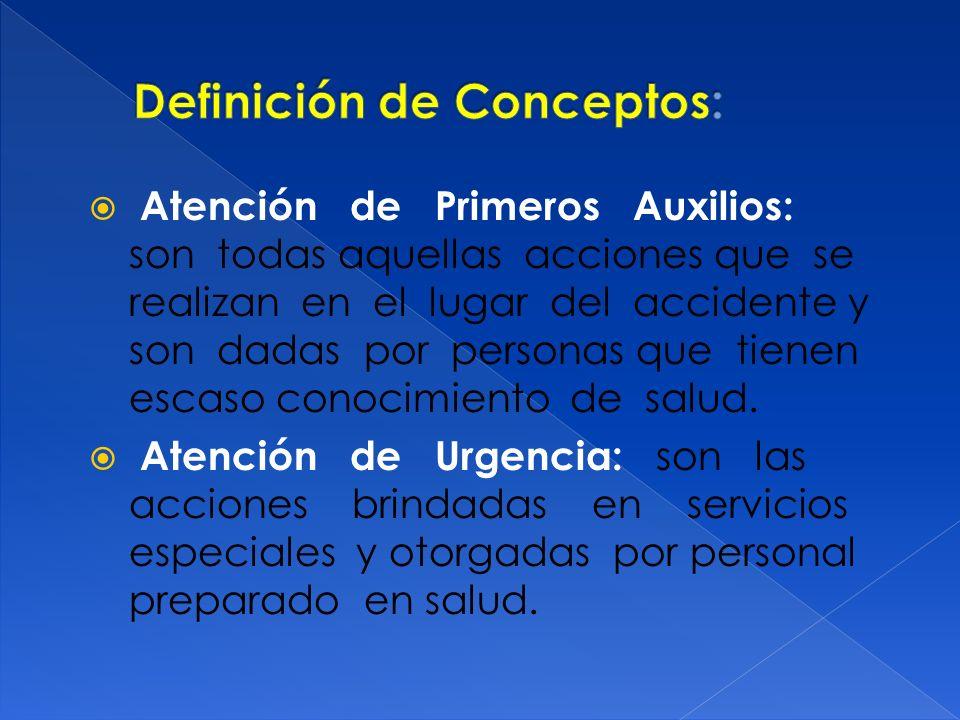 Definición de Conceptos: