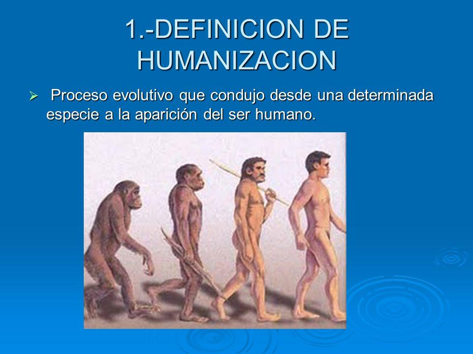 1.-DEFINICION DE HUMANIZACION