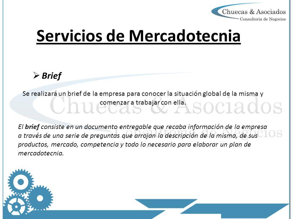 Servicios de Mercadotecnia
