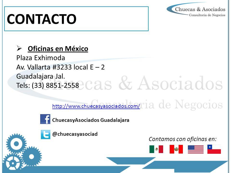 CONTACTO Oficinas en México Plaza Exhimoda