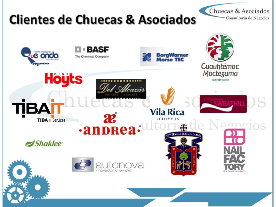 Clientes de Chuecas & Asociados