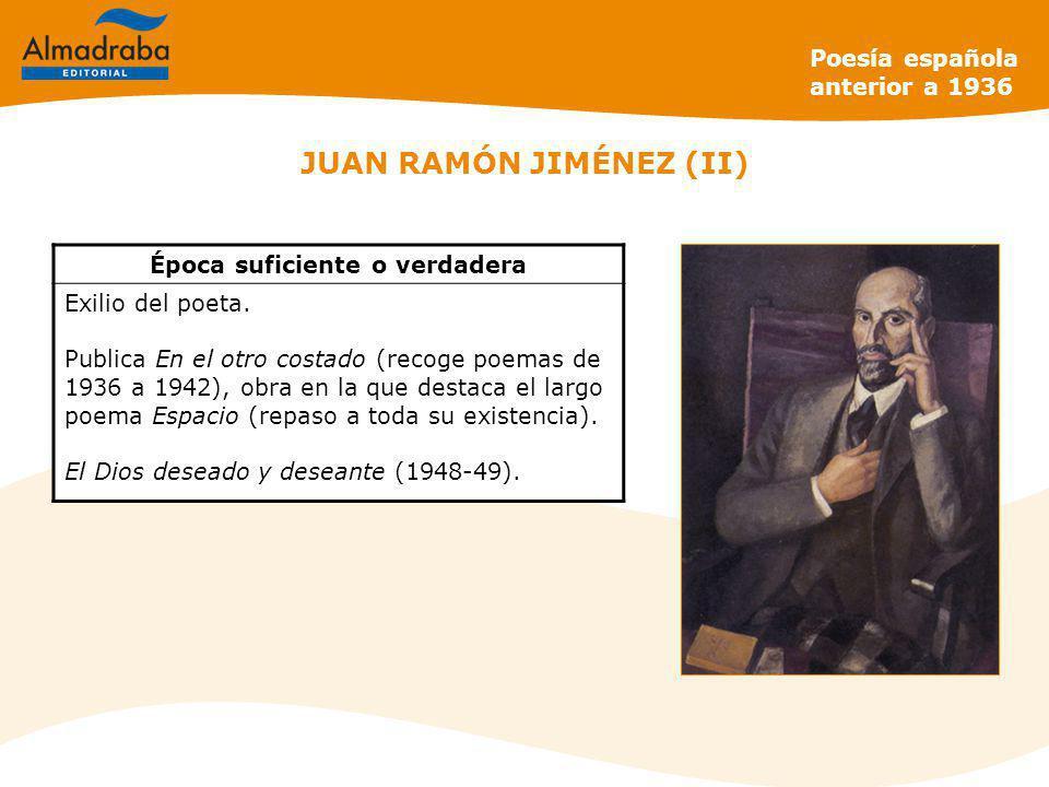 JUAN RAMÓN JIMÉNEZ (II)