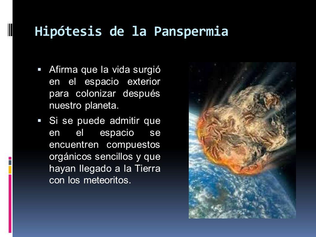 Hipótesis de la Panspermia
