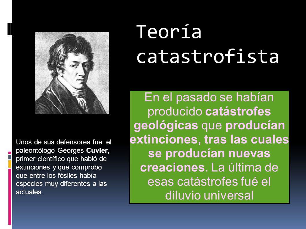 Teoría catastrofista