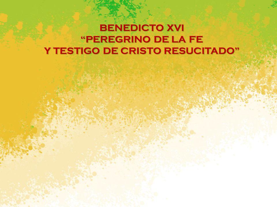 Y TESTIGO DE CRISTO RESUCITADO