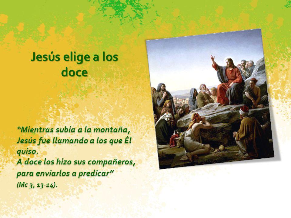 Jesús elige a los doce