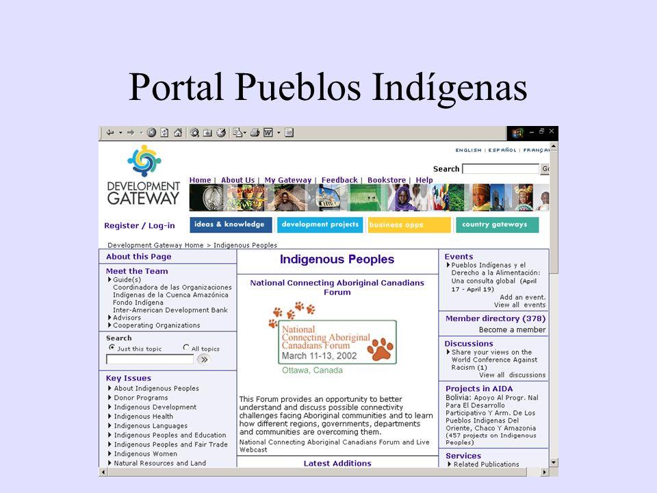Portal Pueblos Indígenas