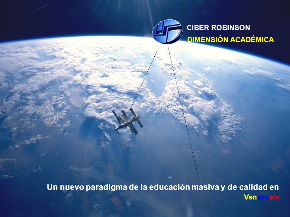 Un nuevo paradigma de la educación masiva y de calidad en Venezuela