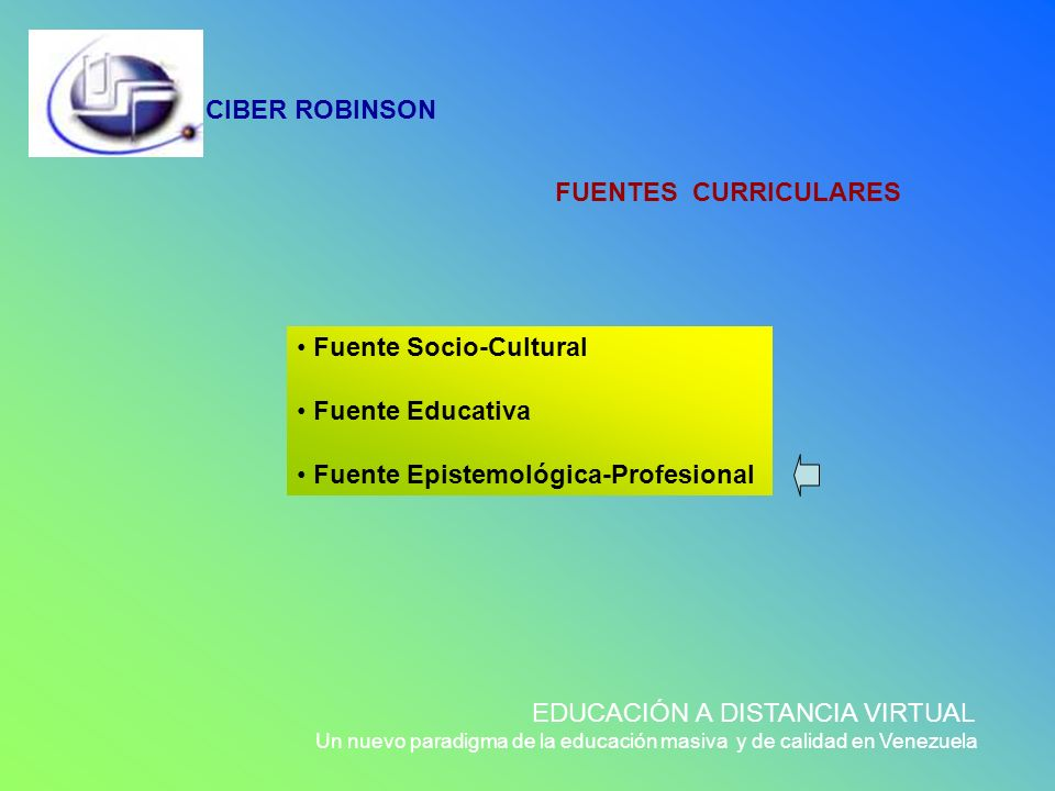 Fuente Socio-Cultural Fuente Educativa