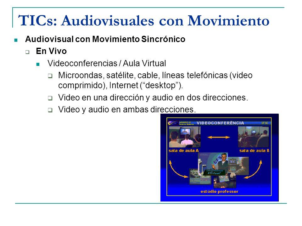 TICs: Audiovisuales con Movimiento
