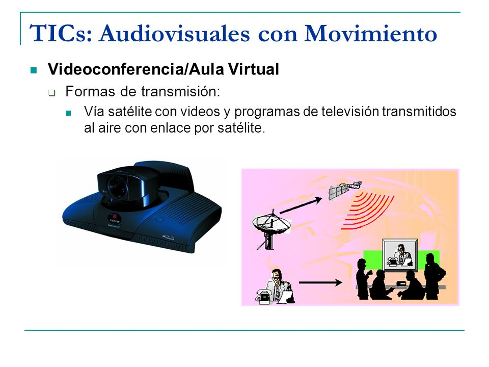 TICs: Audiovisuales con Movimiento