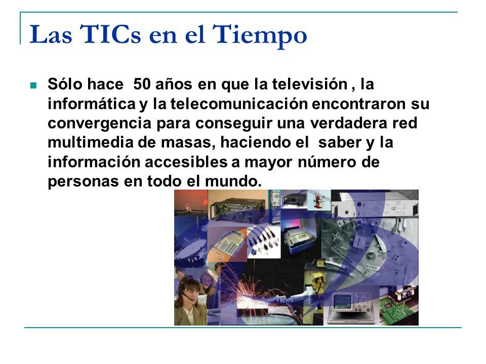 Las TICs en el Tiempo