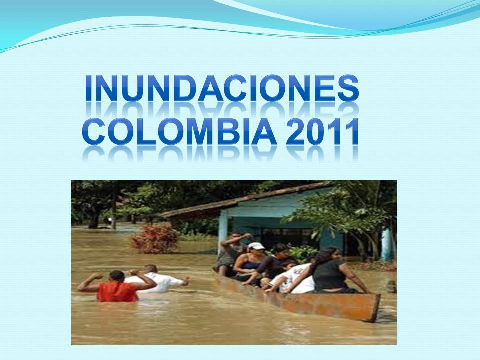 INUNDACIONES COLOMBIA 2011