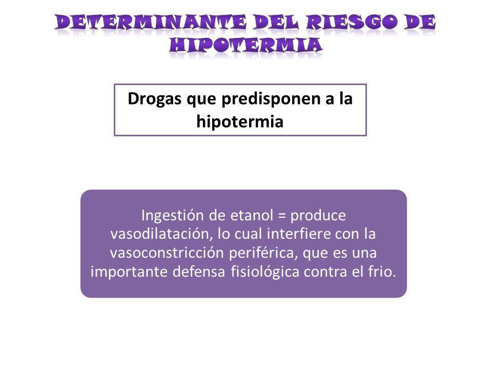 DETERMINANTE DEL RIESGO DE HIPOTERMIA