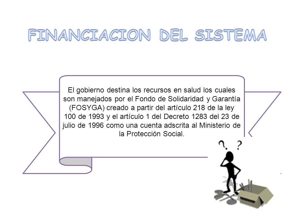 FINANCIACION DEL SISTEMA
