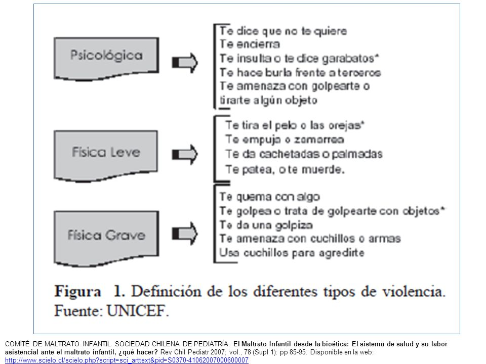 COMITÉ DE MALTRATO INFANTIL SOCIEDAD CHILENA DE PEDIATRÍA