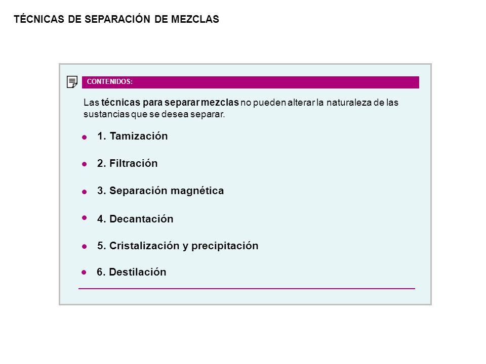 5. Cristalización y precipitación