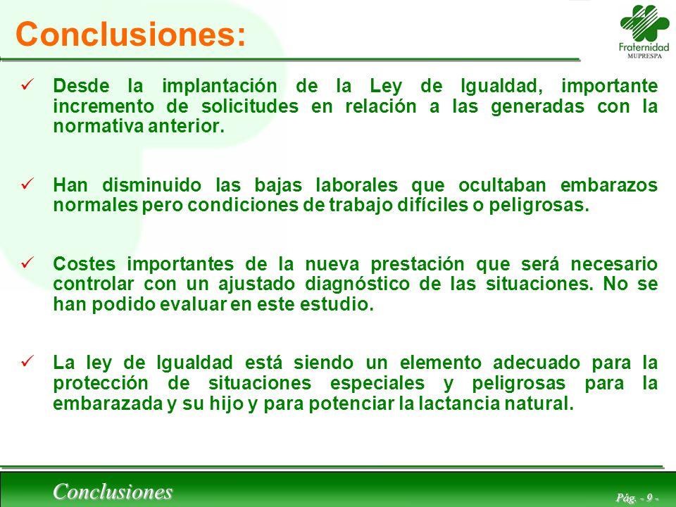 Conclusiones: Conclusiones