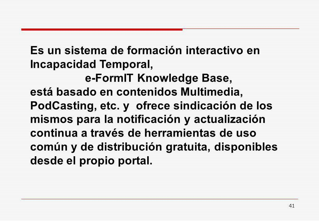 e-FormIT Knowledge Base,