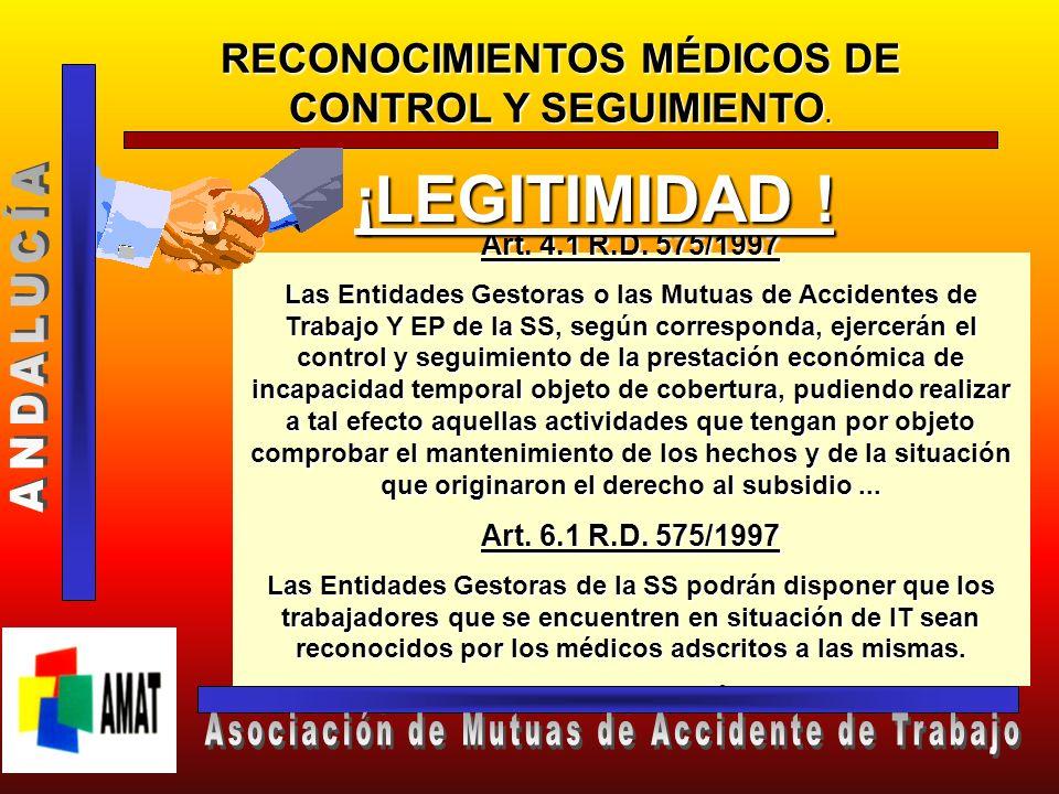 ¡LEGITIMIDAD ! ANDALUCÍA Asociación de Mutuas de Accidente de Trabajo