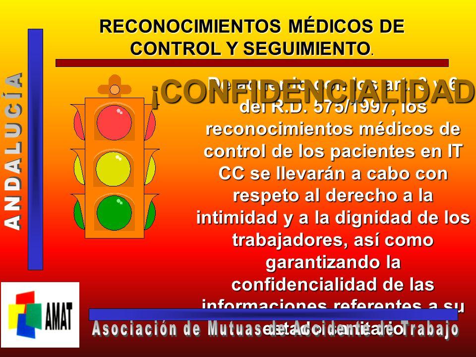 ¡CONFIDENCIALIDAD! ANDALUCÍA