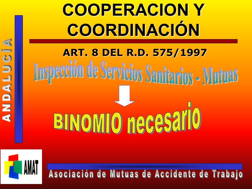 COOPERACION Y COORDINACIÓN