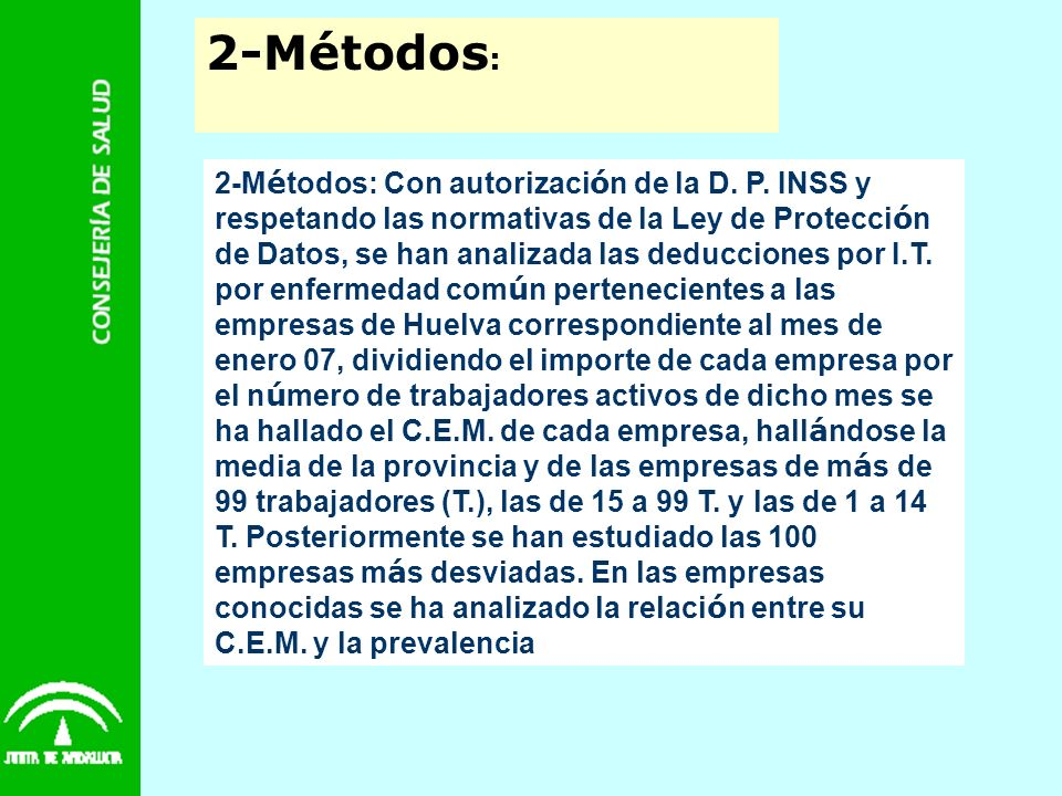 2-Métodos: