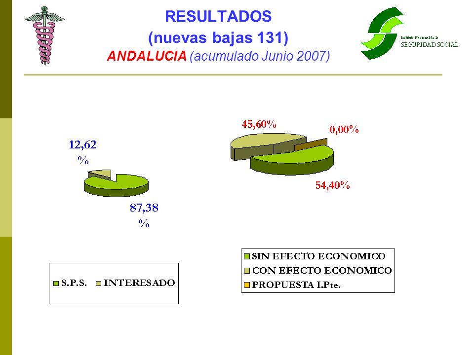 ANDALUCIA (acumulado Junio 2007)