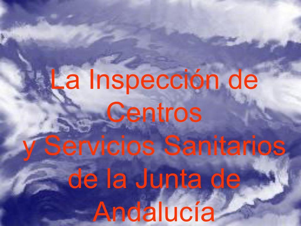 La Inspección de Centros y Servicios Sanitarios