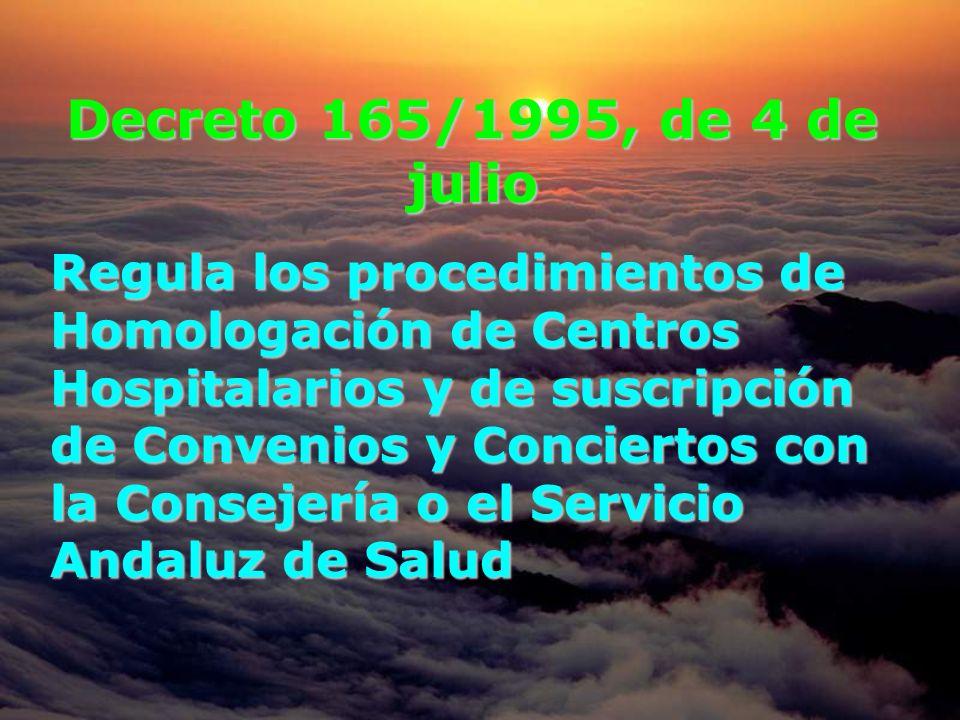 Decreto 165/1995, de 4 de julio