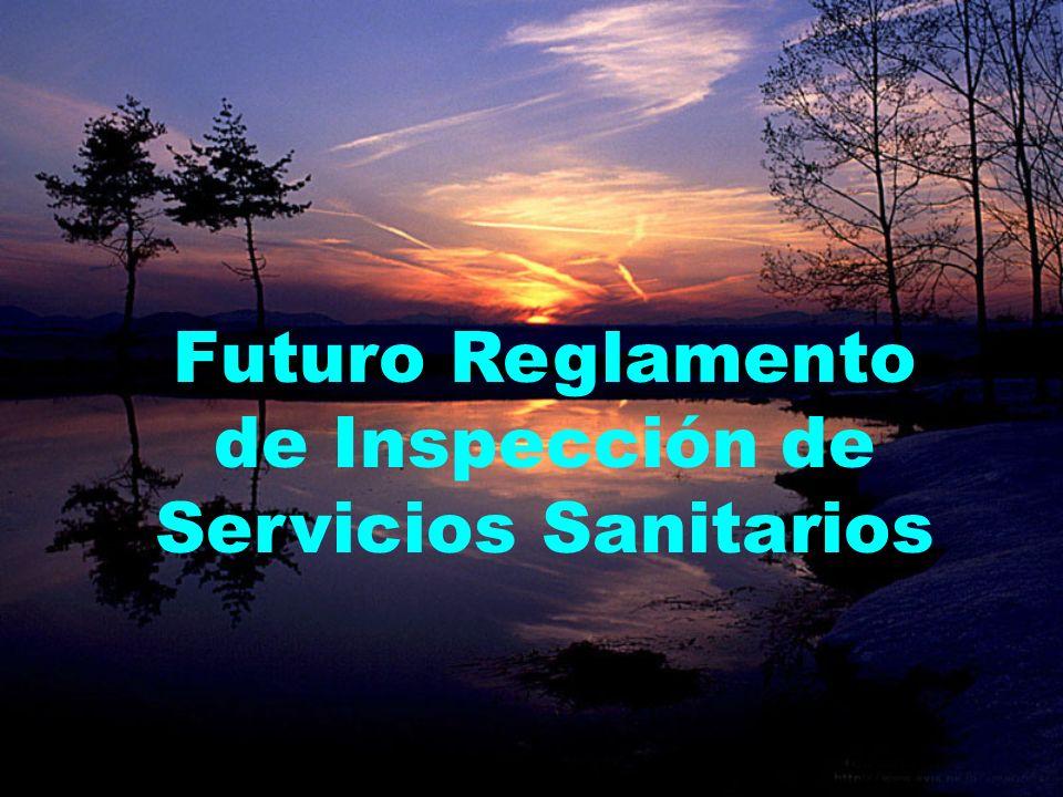 Futuro Reglamento de Inspección de Servicios Sanitarios