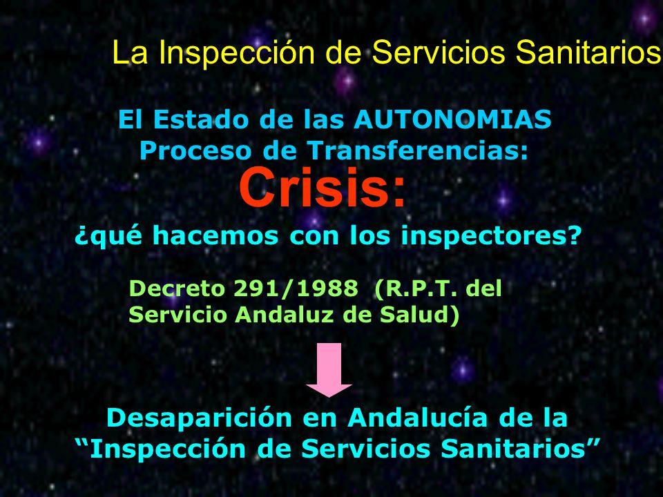 Crisis: La Inspección de Servicios Sanitarios