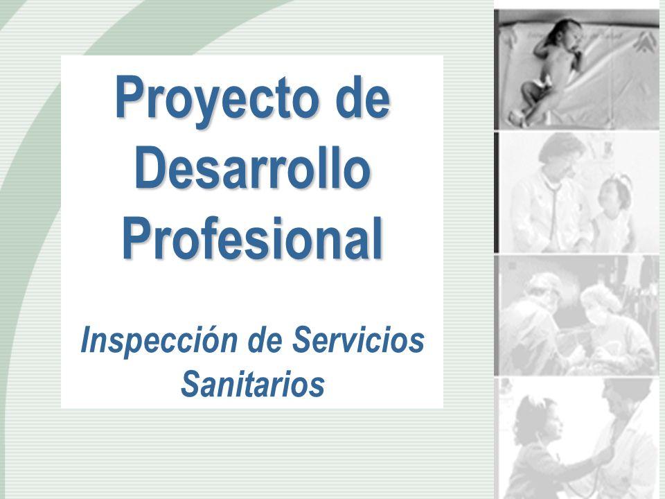 Proyecto de Desarrollo Profesional Inspección de Servicios Sanitarios