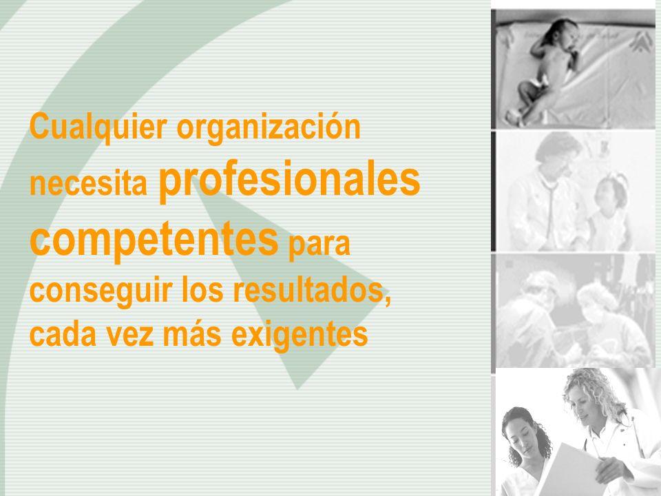 Cualquier organización necesita profesionales competentes para conseguir los resultados, cada vez más exigentes
