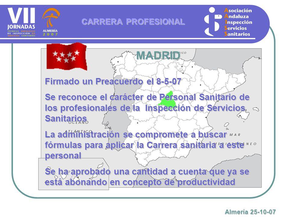 MADRID Firmado un Preacuerdo el 8-5-07