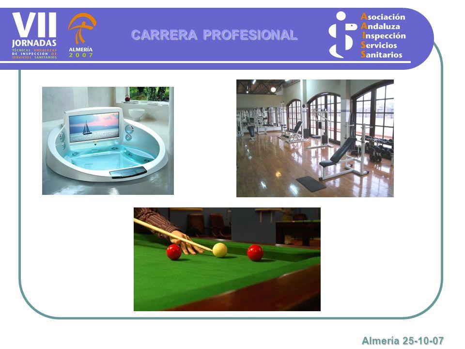 CARRERA PROFESIONAL Almería 25-10-07