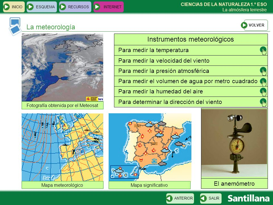 Instrumentos meteorológicos