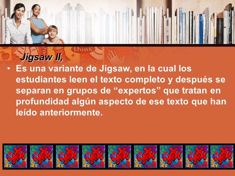 Jigsaw II,