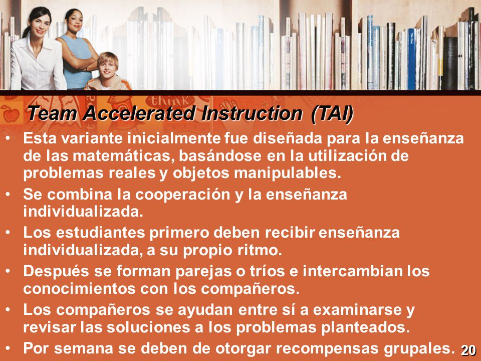 Team Accelerated Instruction (TAI)