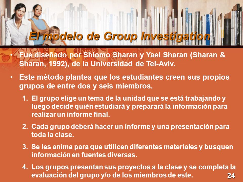 El modelo de Group Investigation