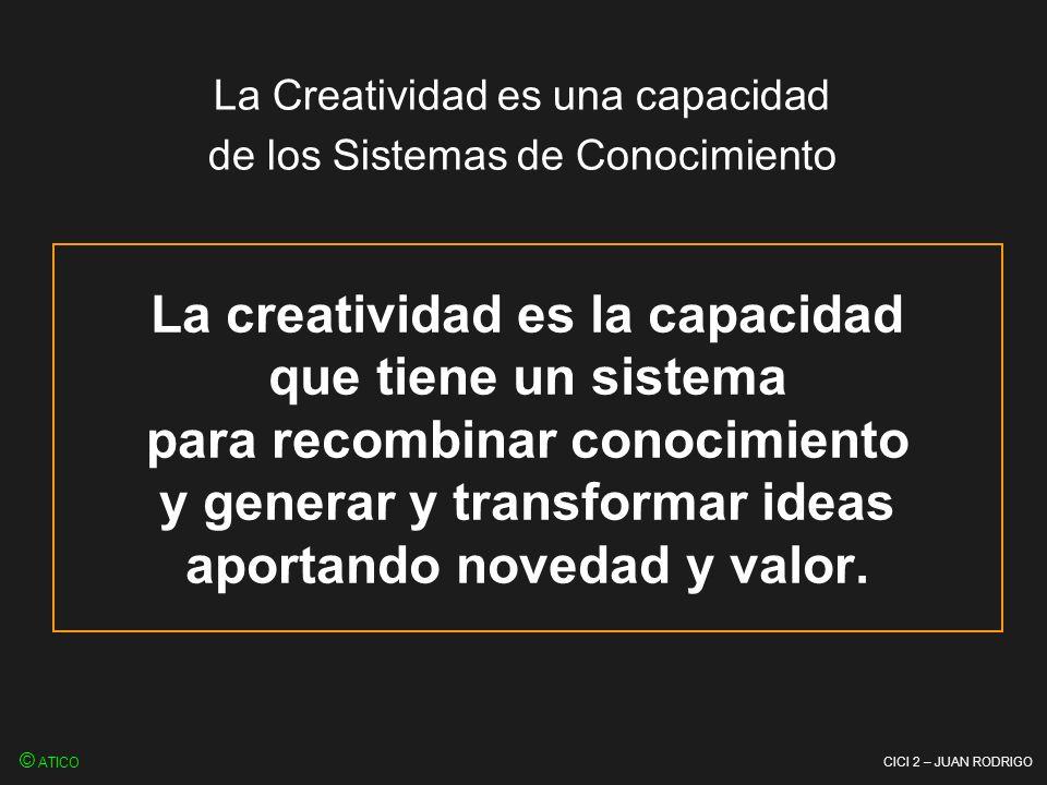 La Creatividad es una capacidad