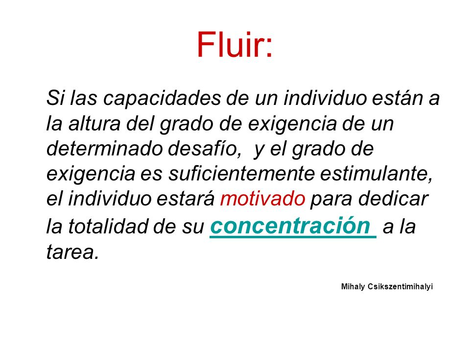 Fluir: