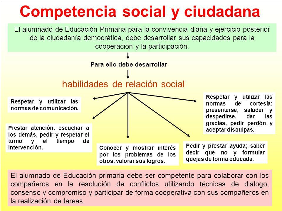 habilidades de relación social