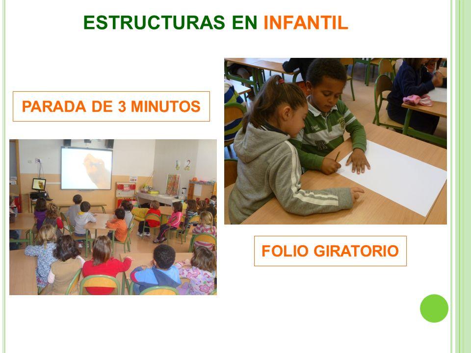 ESTRUCTURAS EN INFANTIL