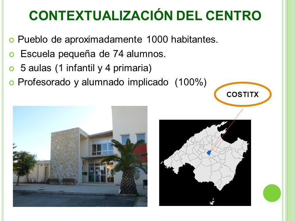 CONTEXTUALIZACIÓN DEL CENTRO