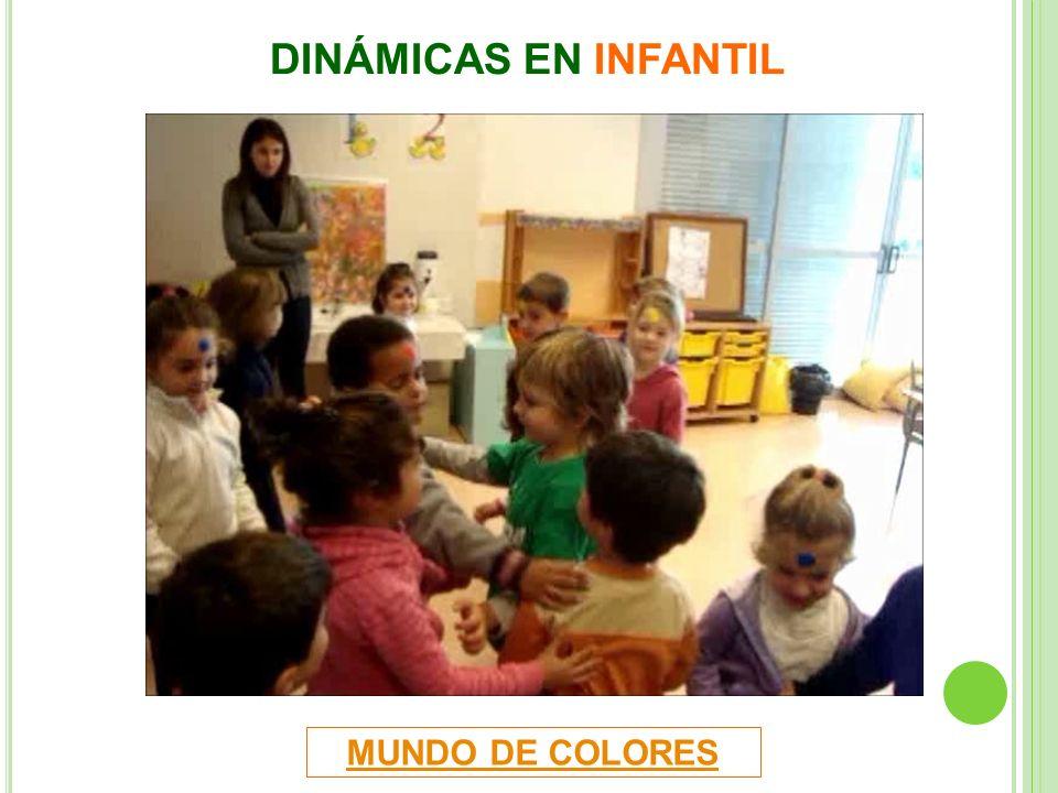 DINÁMICAS EN INFANTIL MUNDO DE COLORES