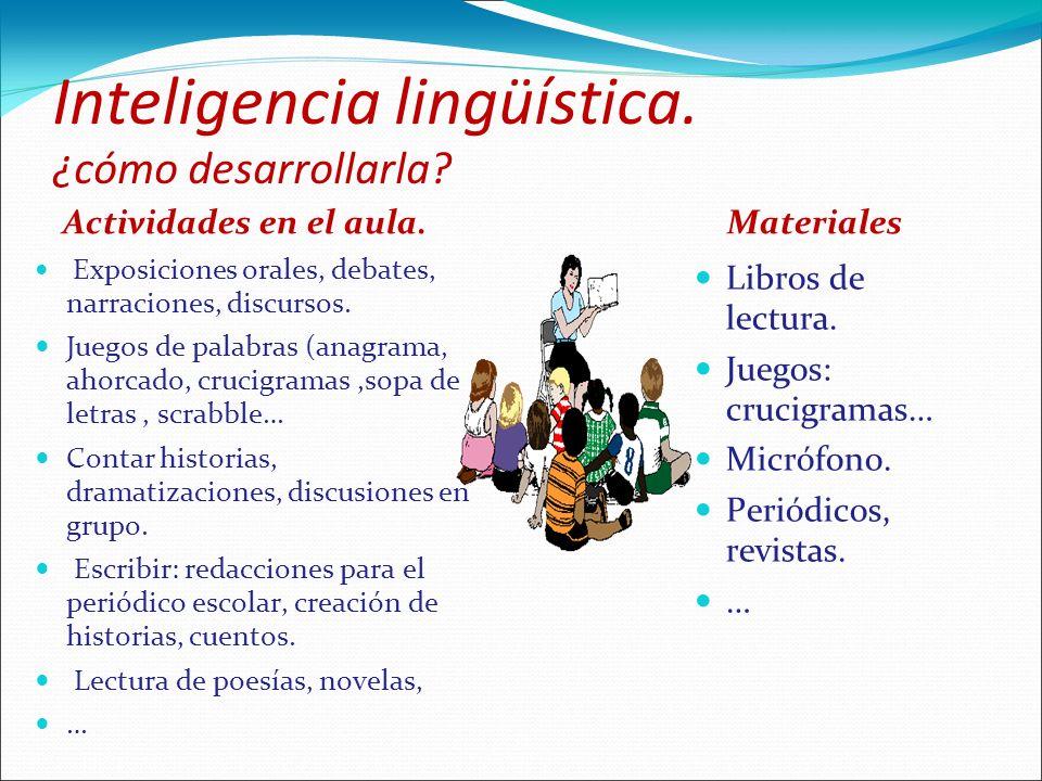 Inteligencia lingüística. ¿cómo desarrollarla
