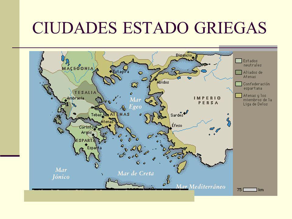 CIUDADES ESTADO GRIEGAS